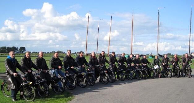 Solex rijden Friesland Gaasterland