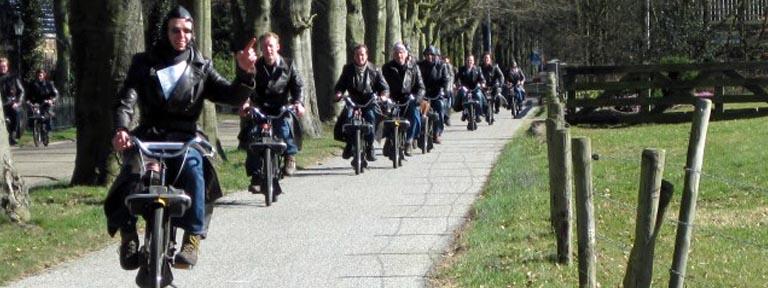 Actief personeelsuitje Friesland