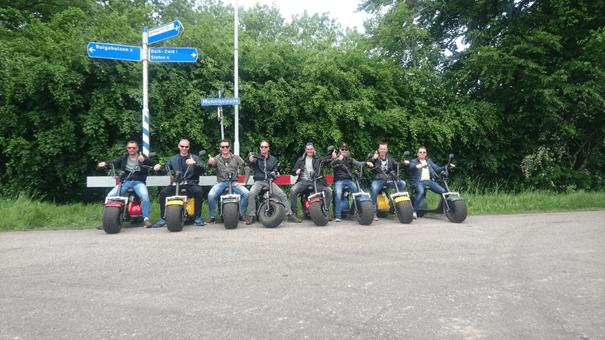 Electrische Scooters huren Friesland