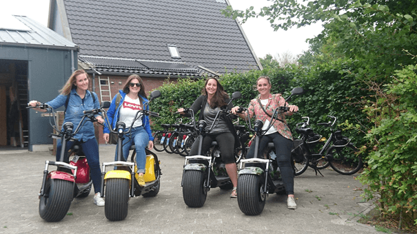 Choppertour Friesland