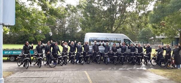 Elektrische Scooters huren Friesland
