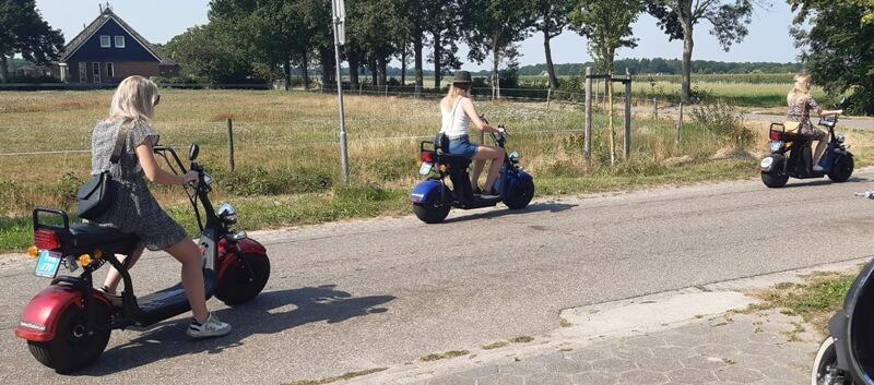 E-scooter verhuur Friesland