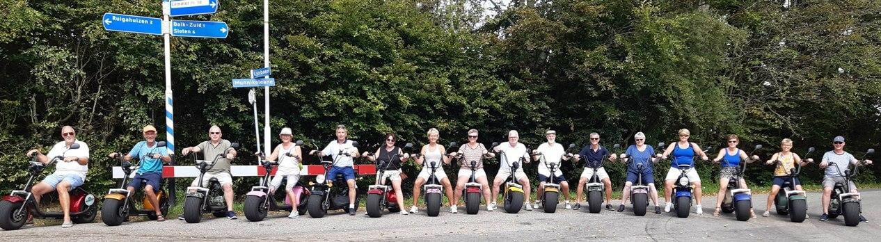 Elektrische scooter verhuur Friesland